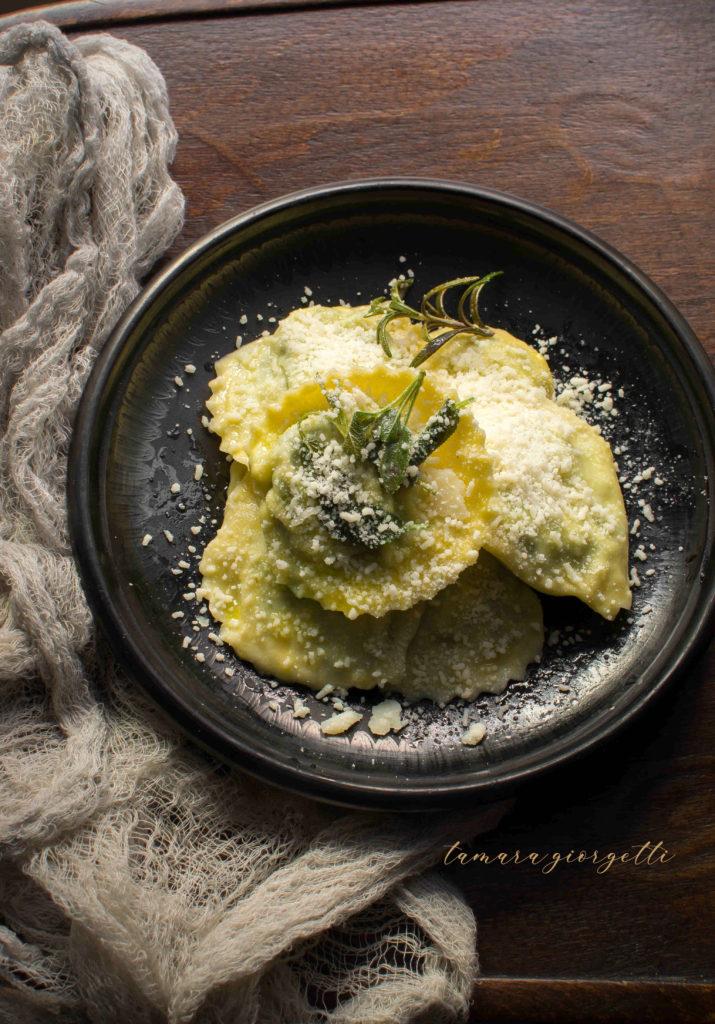 tortelli maremmani ricotta e spinaci