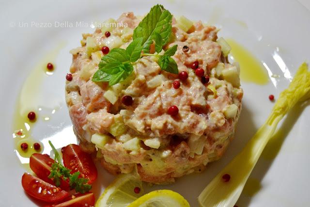 Tartara Di Salmone – Lohitartar  Per L'Abbecedario Culinario D'Europa