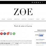 Intervista per Zoe magazine