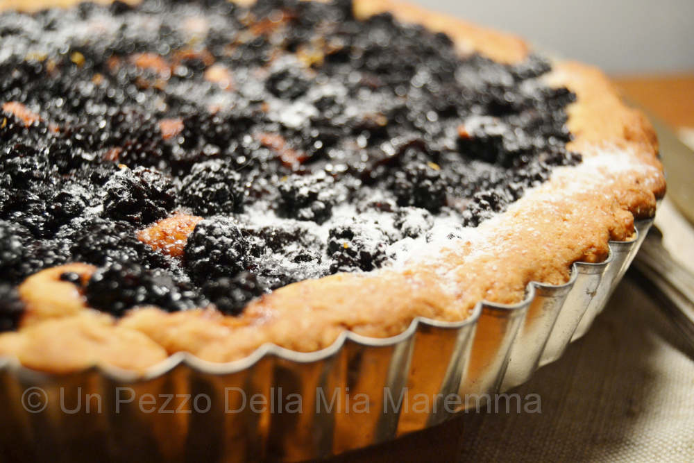 Crostata Alle More Di Rovo