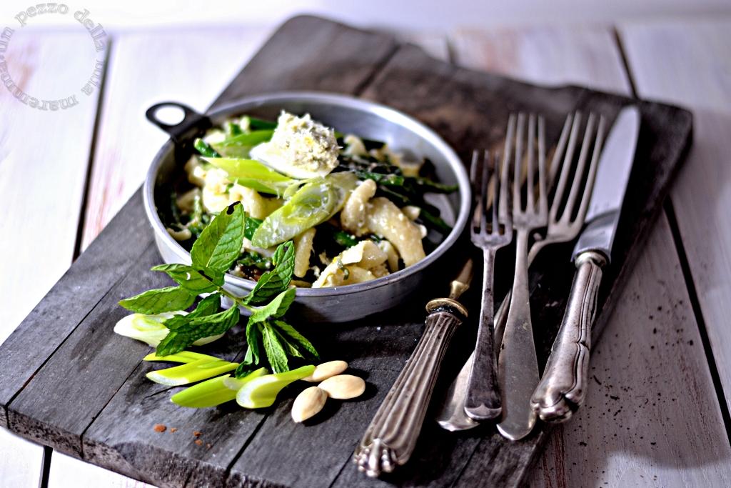 Pasta Con Verdure E Pesto Al Limone