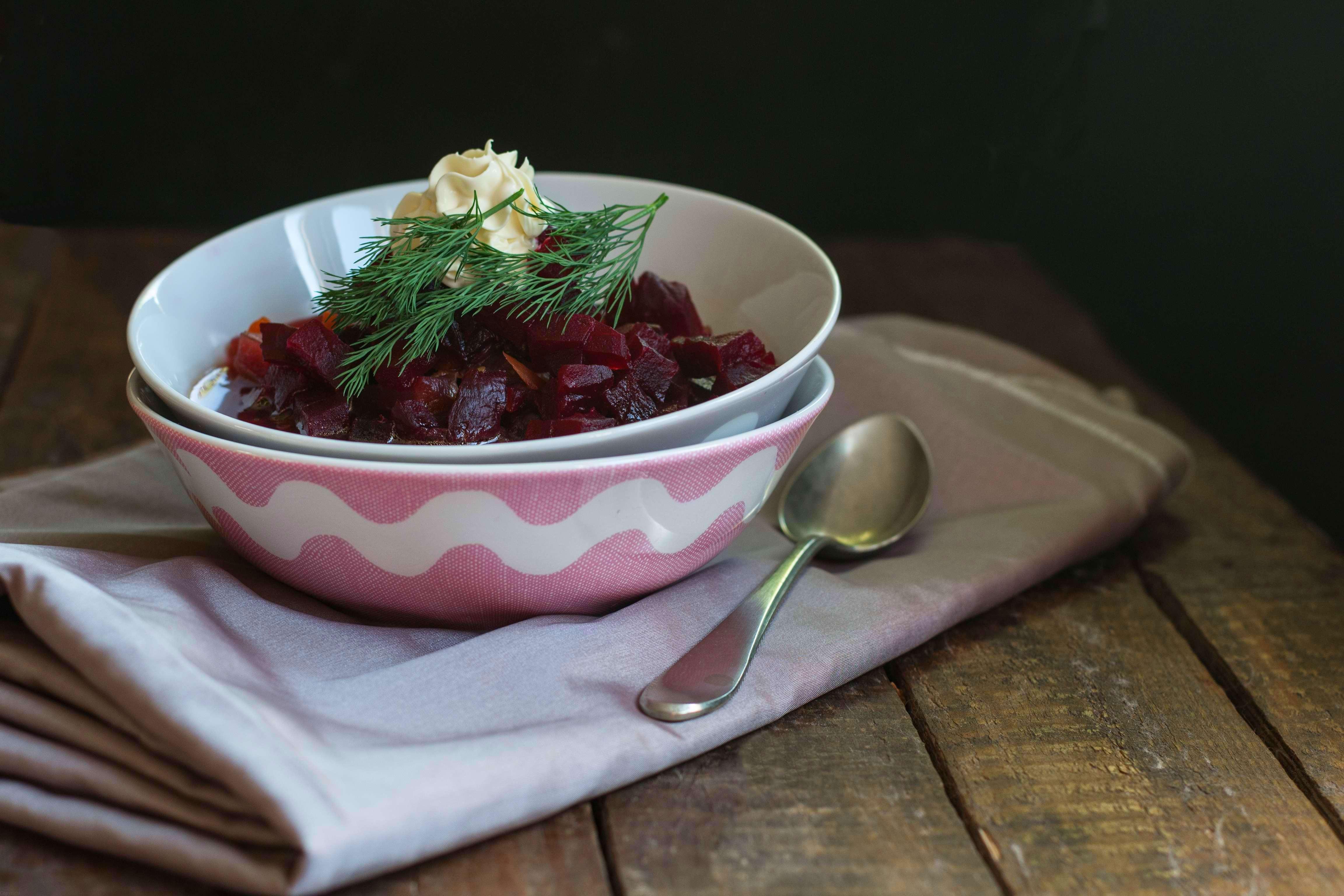 Borsc Russo Vegetariano