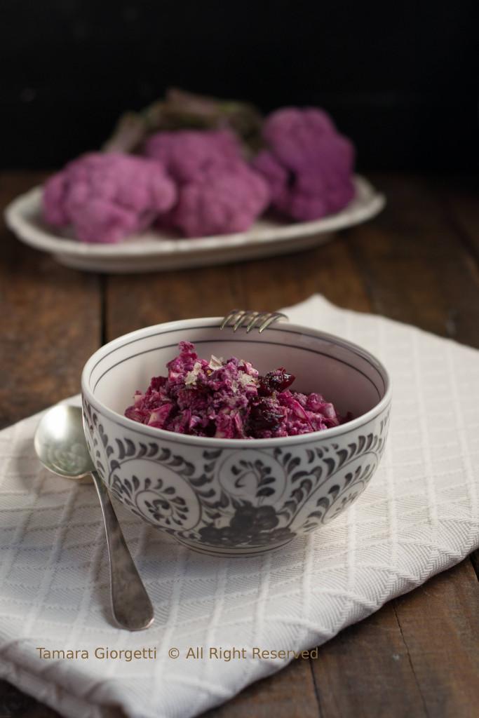 insalata di cavolo violetto