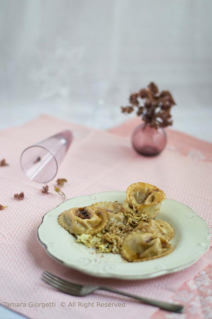 ravioli di verza e patate