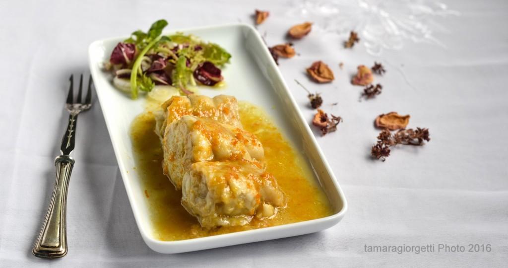 branzino marinato al miele d'arancio
