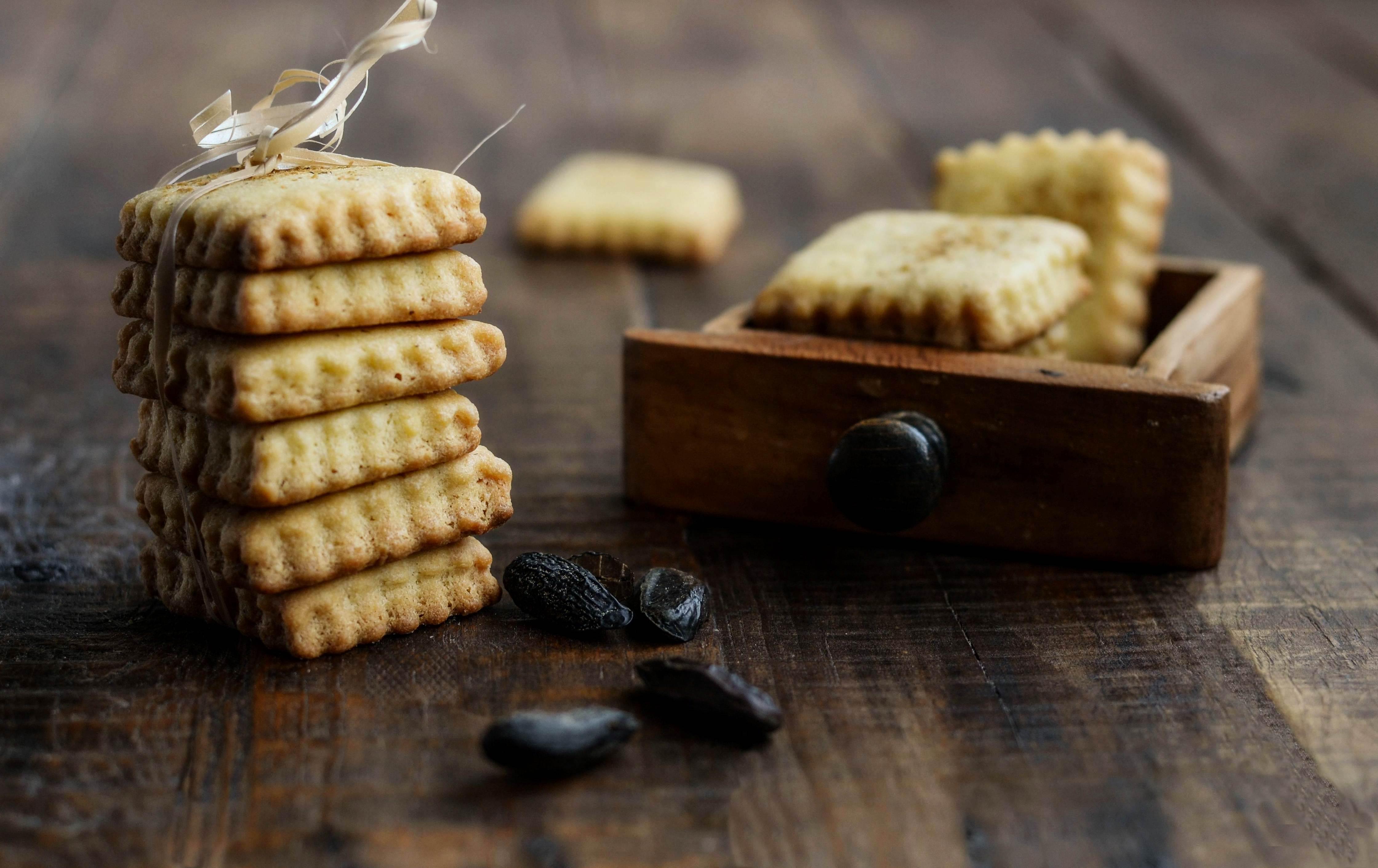 Biscotti Frolla Montata E Fava Tonka