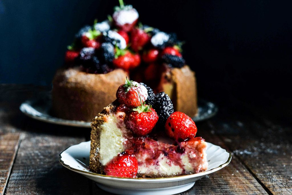 cheese cake ai frutti di bosco