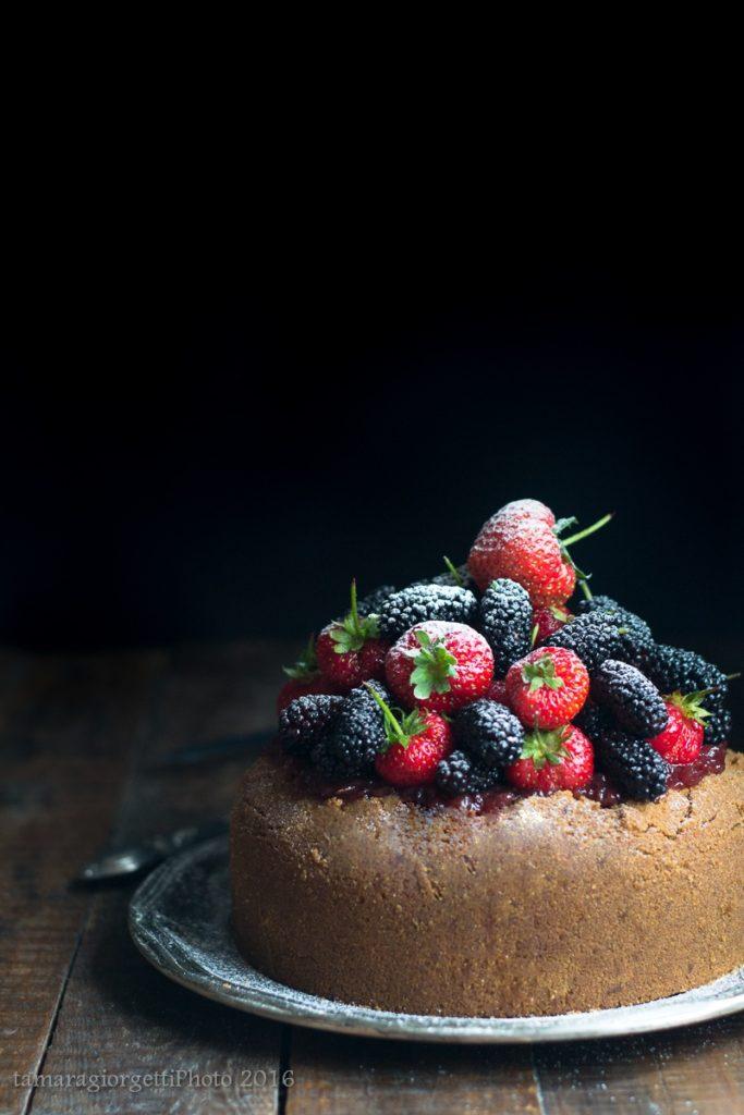 cheese cake ai frutti di bosco