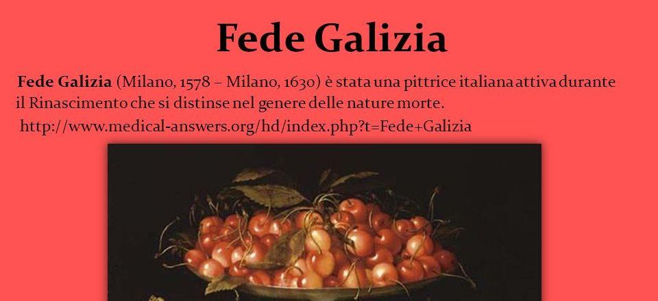 Fede Galizia: Alzata Con Ciliegie