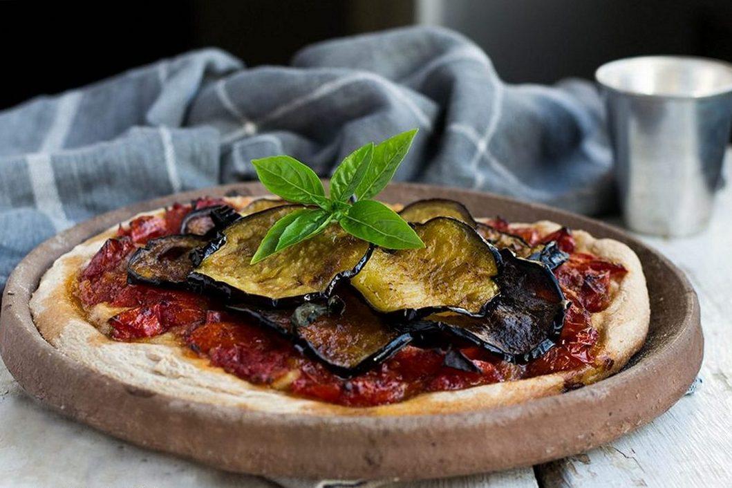 Pizza Alla Norma Con Lievitazione In Teglia