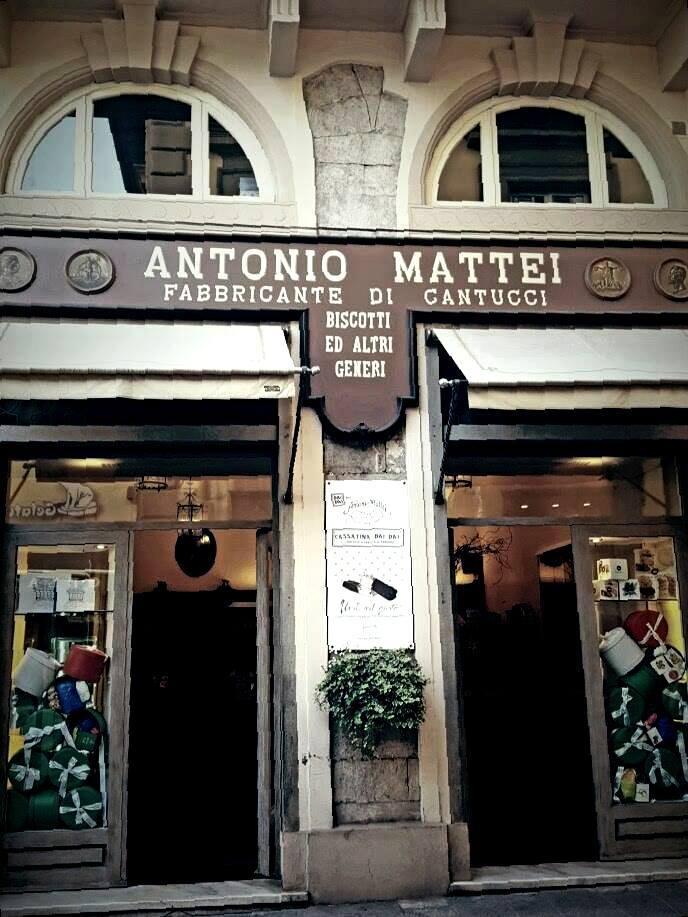 negozio Mattei a Prato