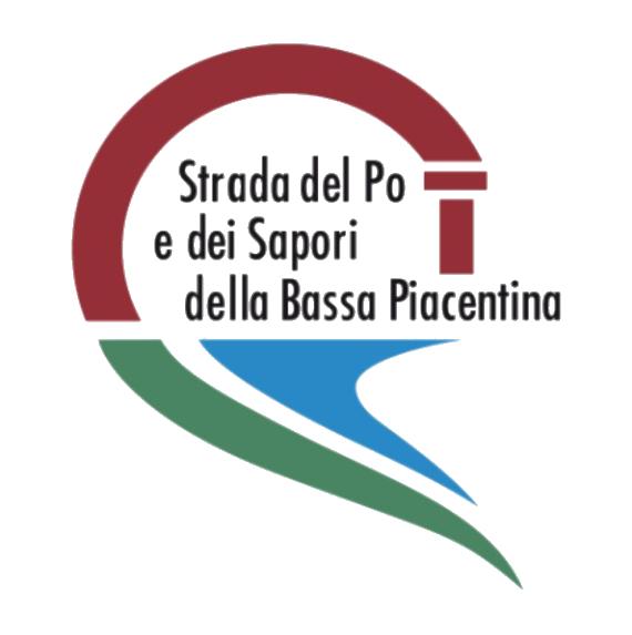 Logo Strada del Po e dei sapori della bassa piacentina