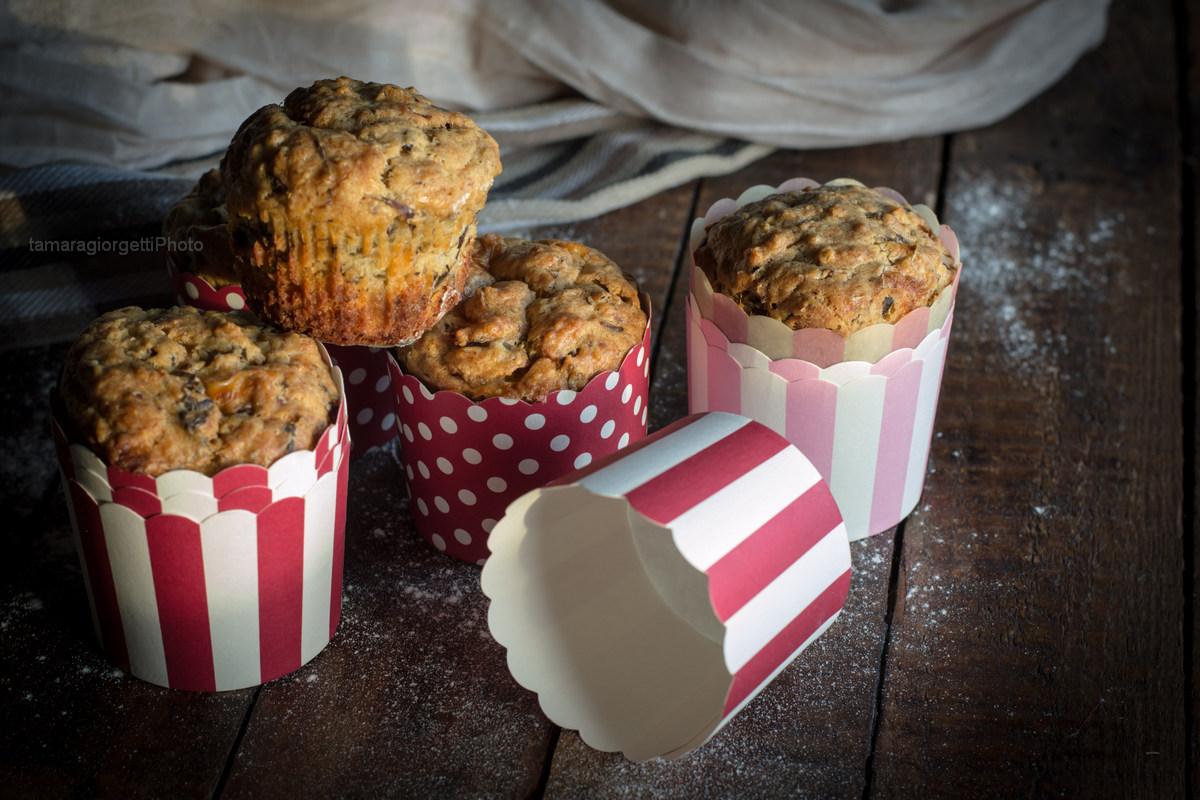 Muffin Ai Carciofi Con Parmigiano E Formaggio Fresco