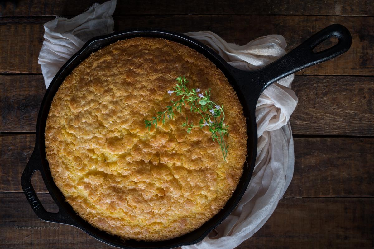 Cornbread In Padella, Il Pane Di Mais Del Ringraziamento