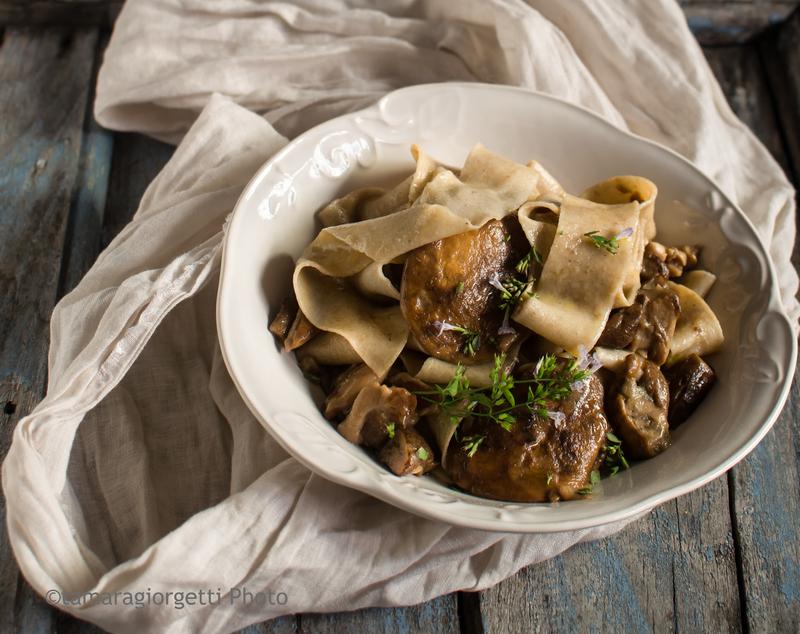 Pappardelle Ai Funghi Porcini Per La Giornata Mondiale Della Pasta