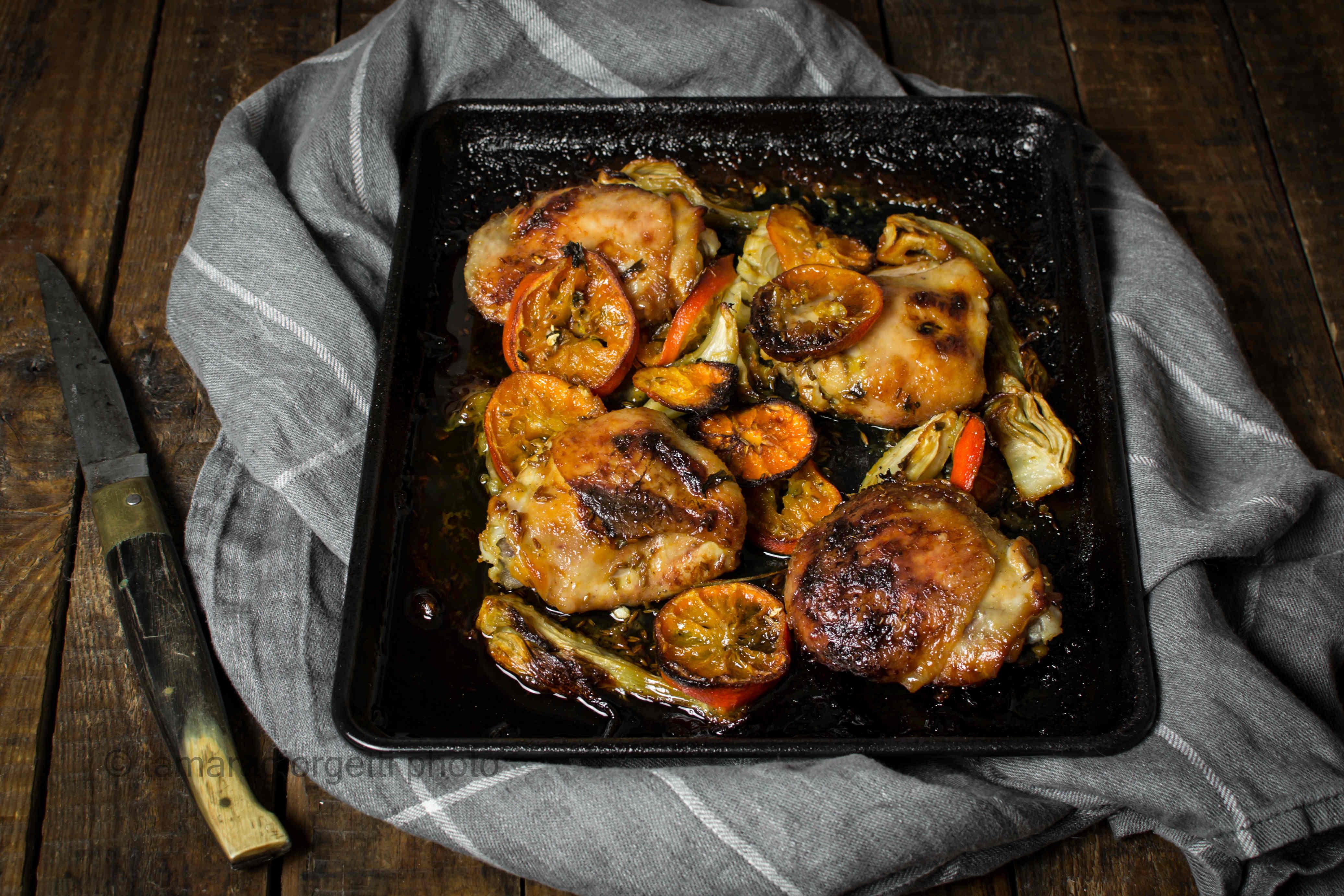 Pollo Ai Clementini E FinocchiO