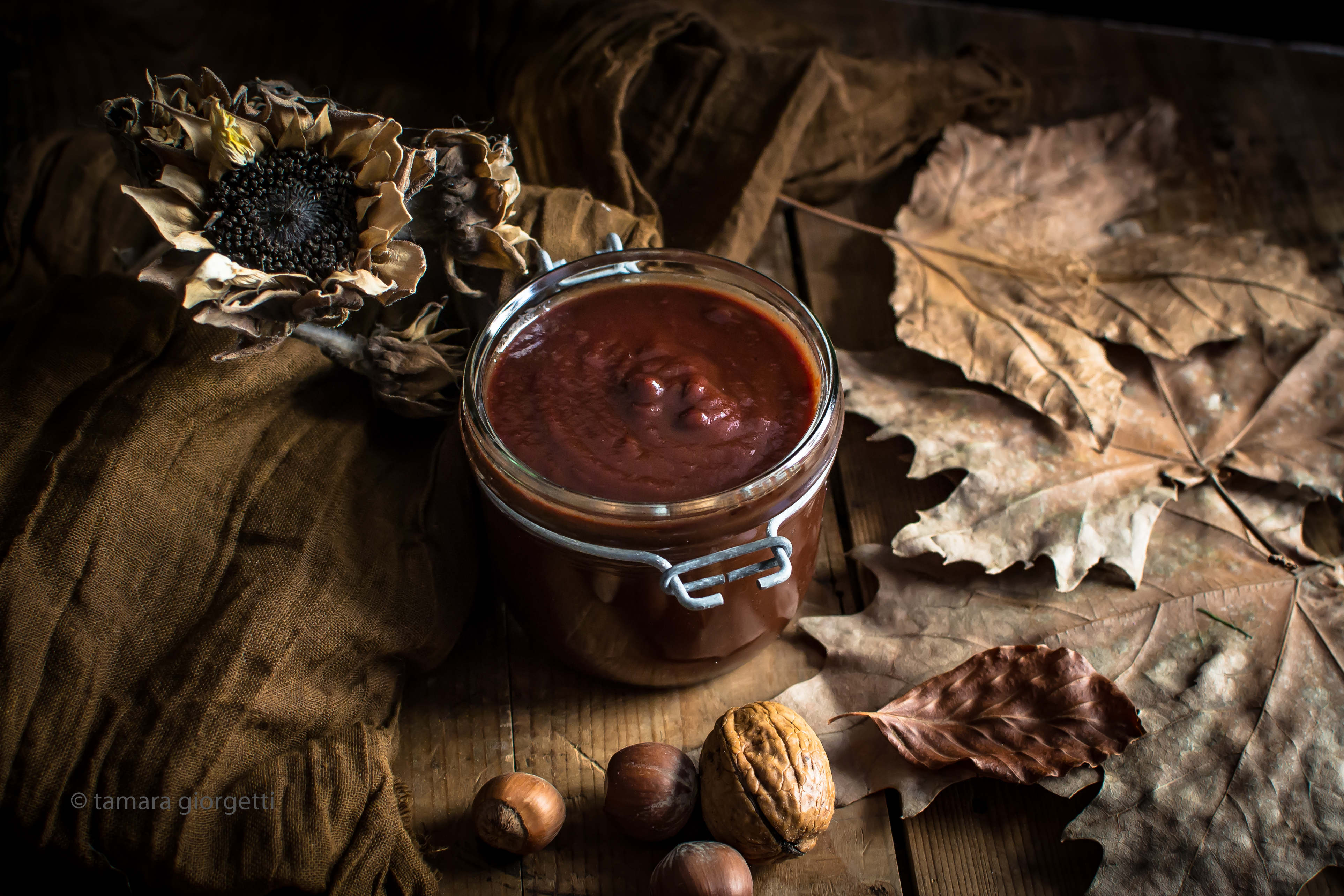 pere e cioccolato confettura