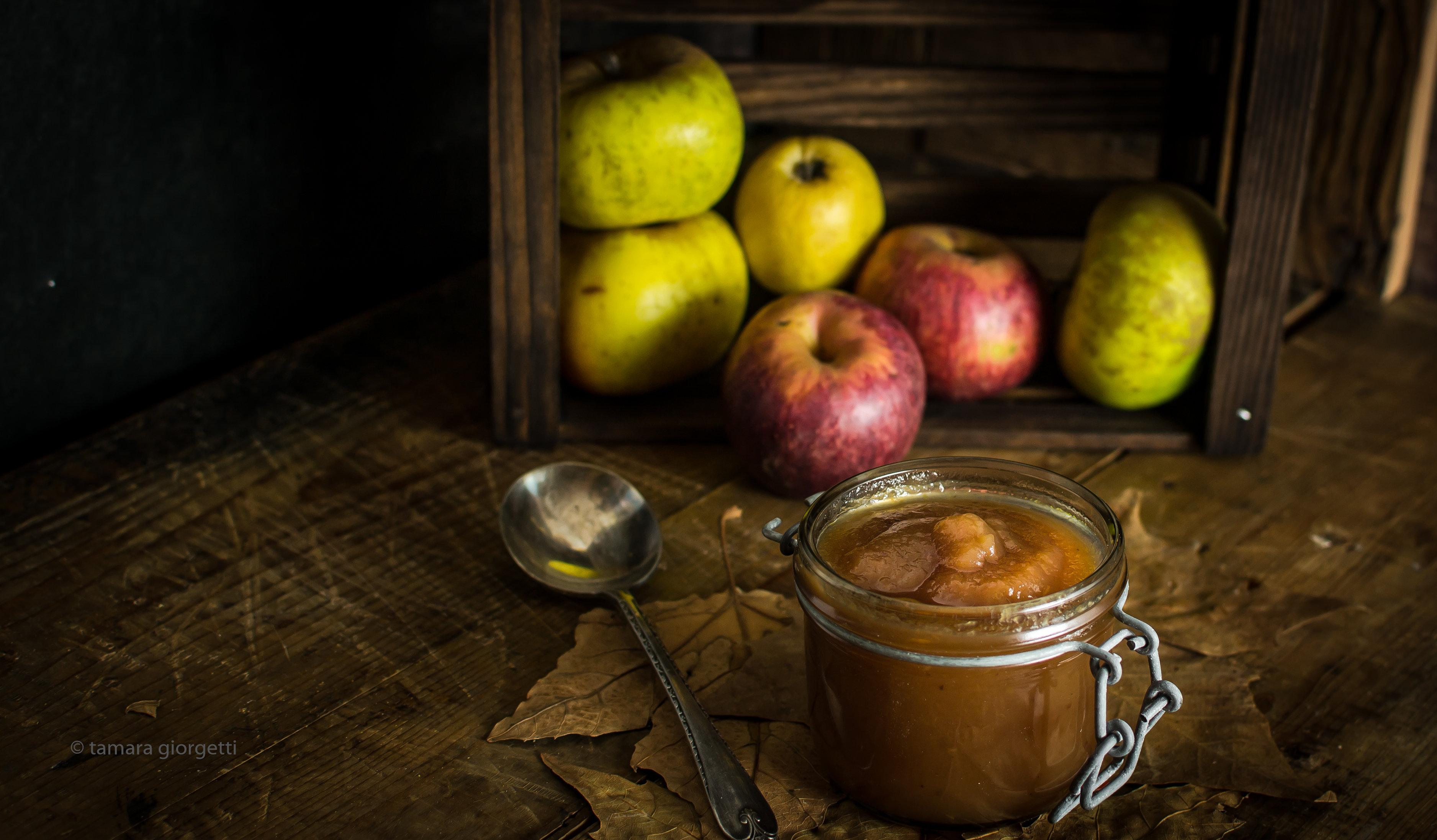 Apple Butter, Una Gradevole, Morbida E Densa Confettura Di Mele