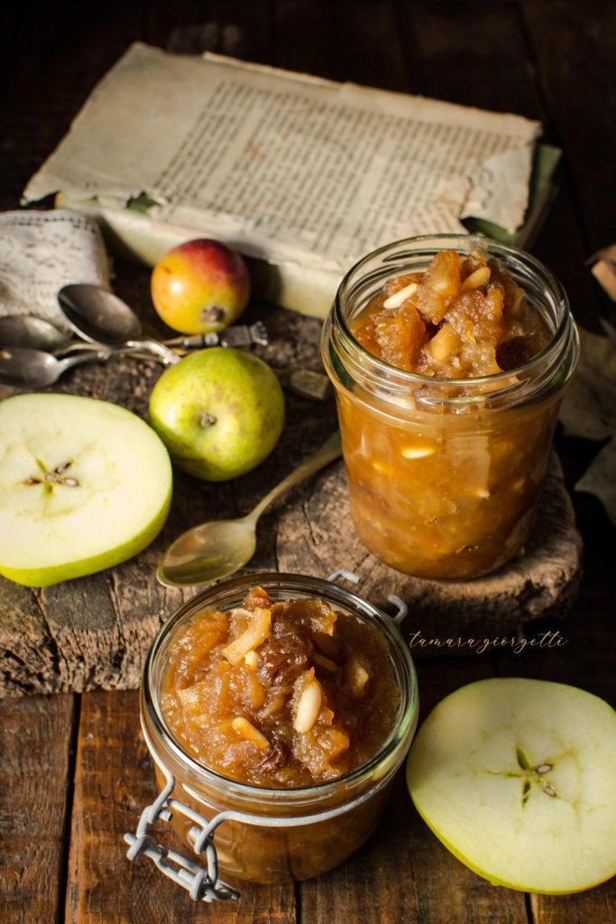 confettura di mele gusto strudel