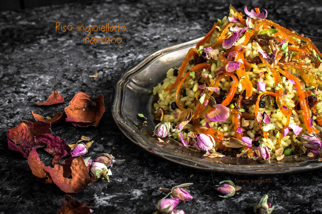 Iranian Jewelled Rice