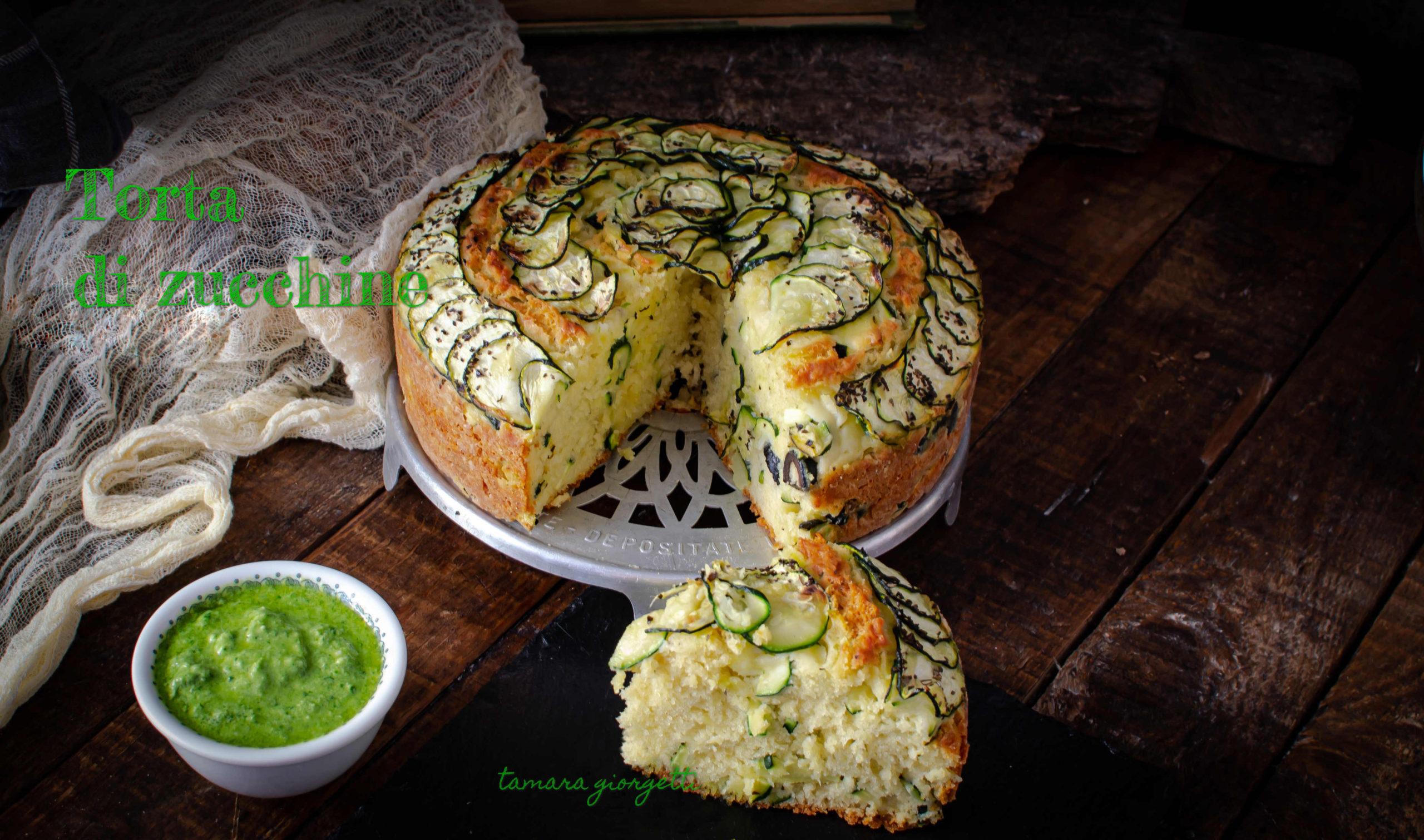 Torta Salata Con Zucchine E Olive