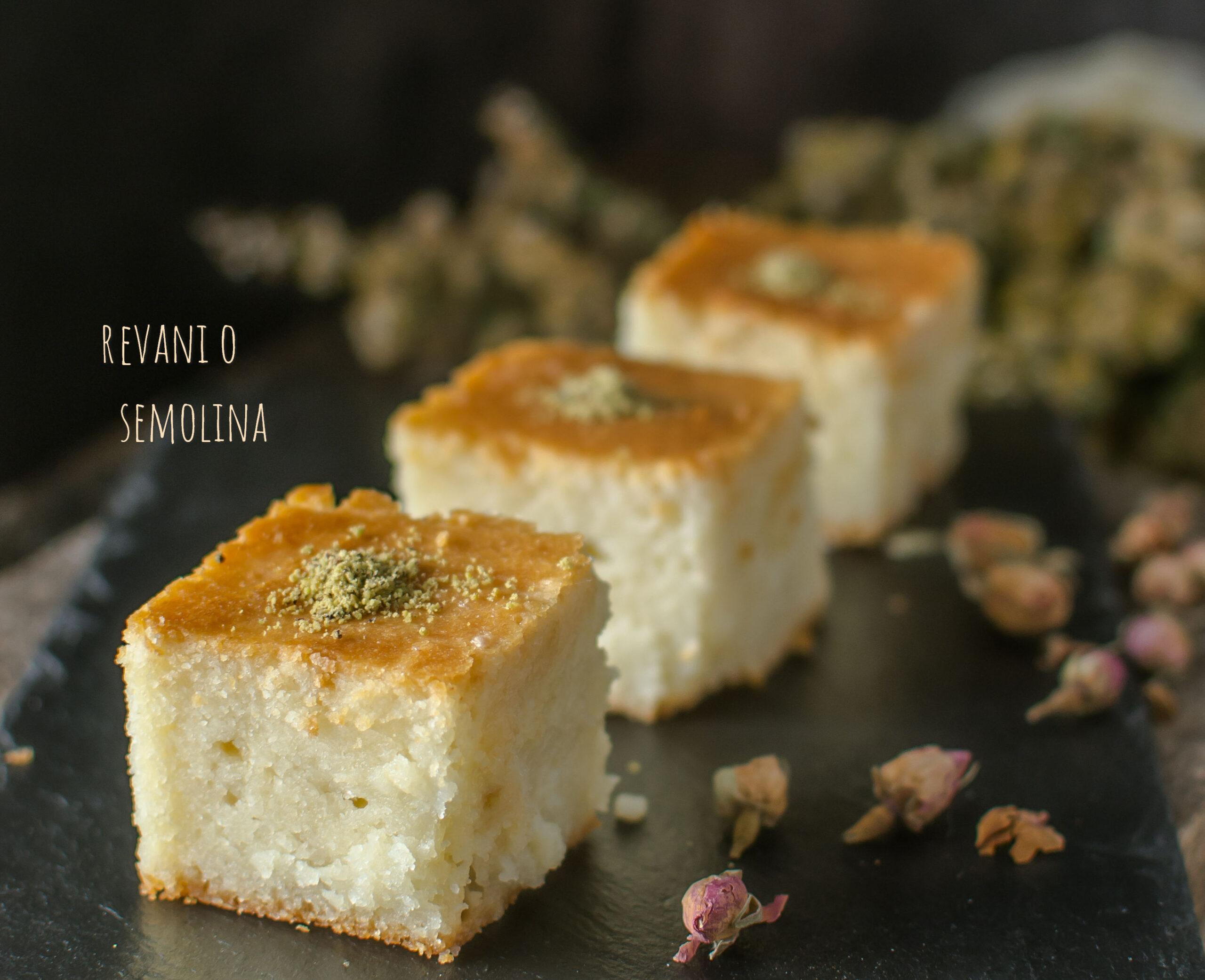 Torta Semolina Per Ramadan