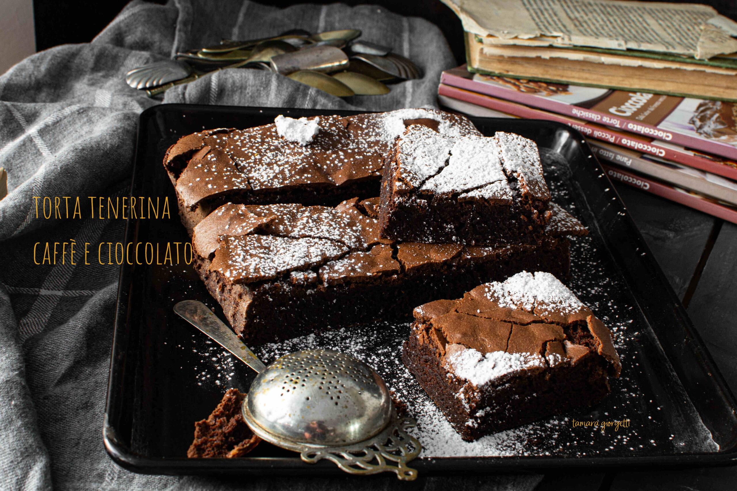 Torta Tenerina Al Caffè E Cioccolato
