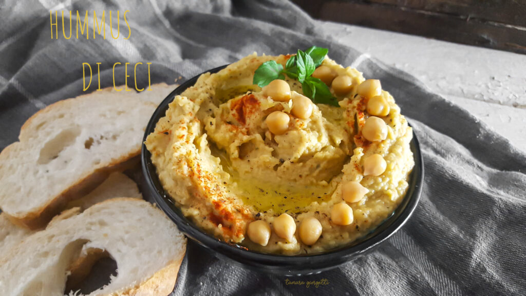 Hummus di ceci speziato