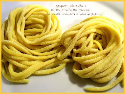 """Spaghetti Alla Chitarra Fatti Con La """"Chitarra"""""""