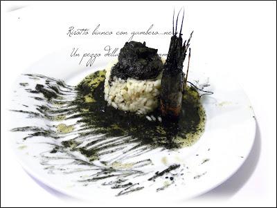 Risotto Bianco Al Gambero…nero