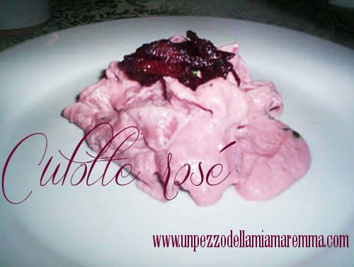 Culotte Rosé…al Ristorante La Palmerie