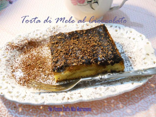 Torta Di Mele E Cioccolato – Jablkovy Kolac
