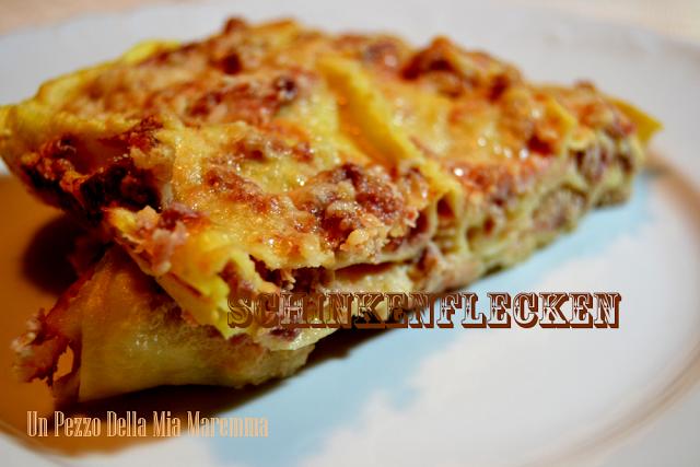 Schinkenflecken, Lasagne Della Cucina Giuliana