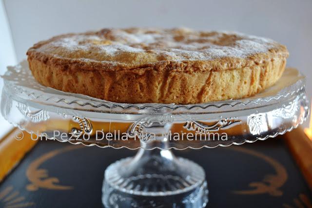 Torta Della Nonna Con Crema Pasticcera E Amarene