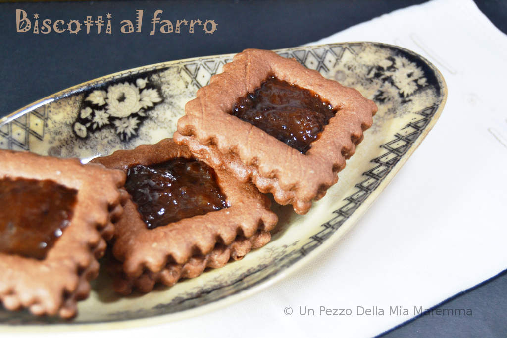 Biscotti Al Farro E Cacao