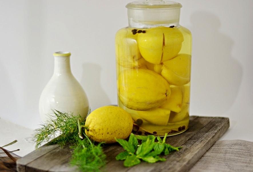 Limoni Al Sale O Confit