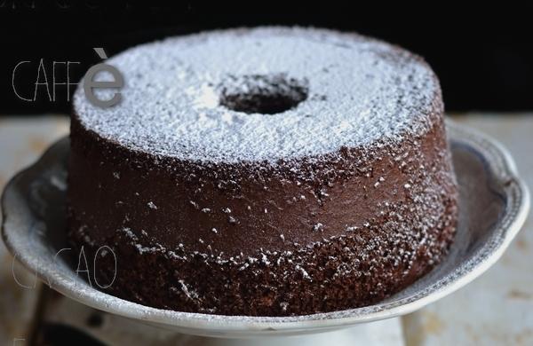 Chiffon Cake Caffè, Cacao E Cannella