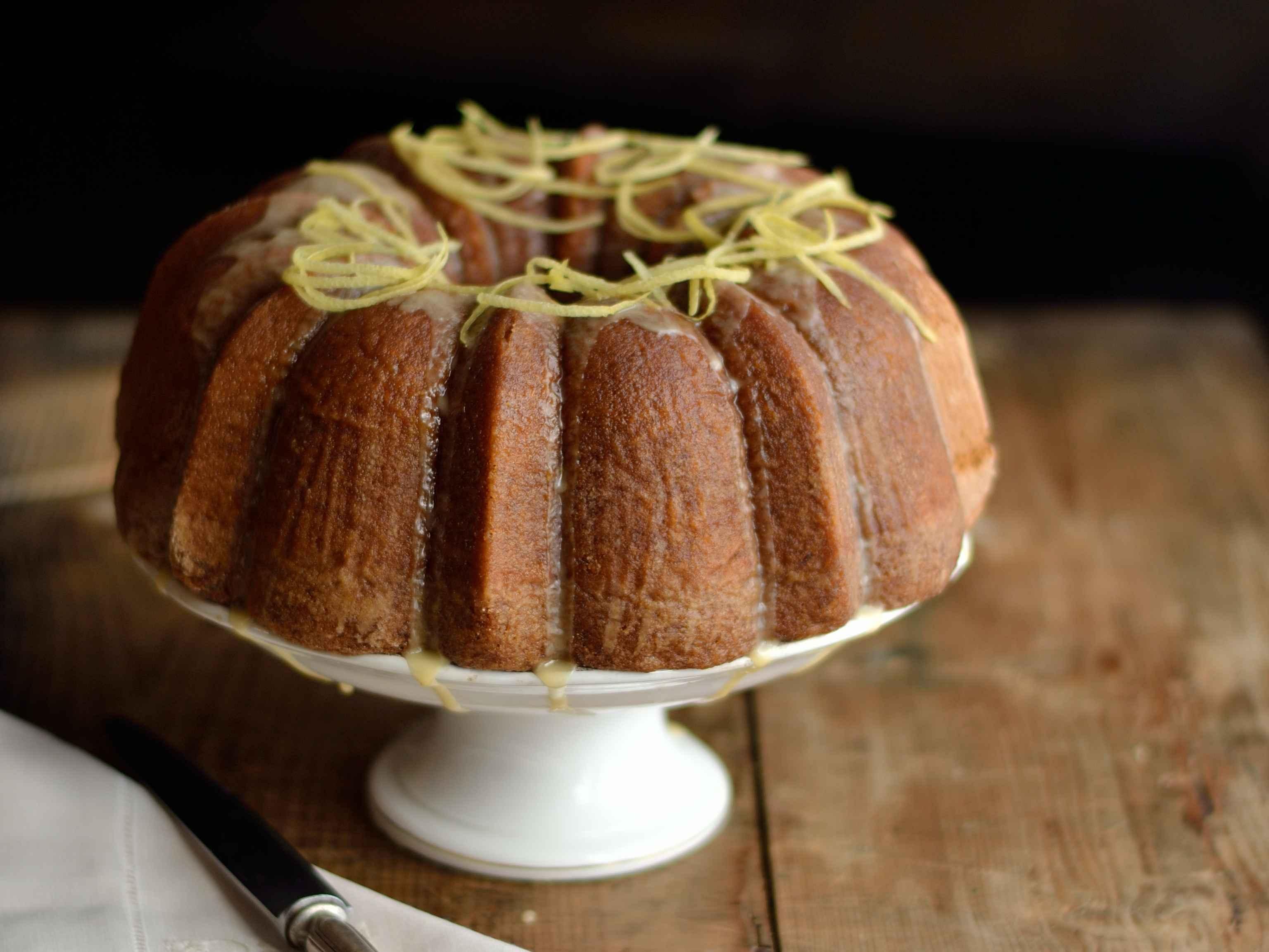 Chiffon Cake Arancio E Limone