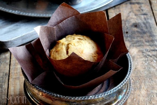 Muffin Alle Mele Con Olio Alla Rosa