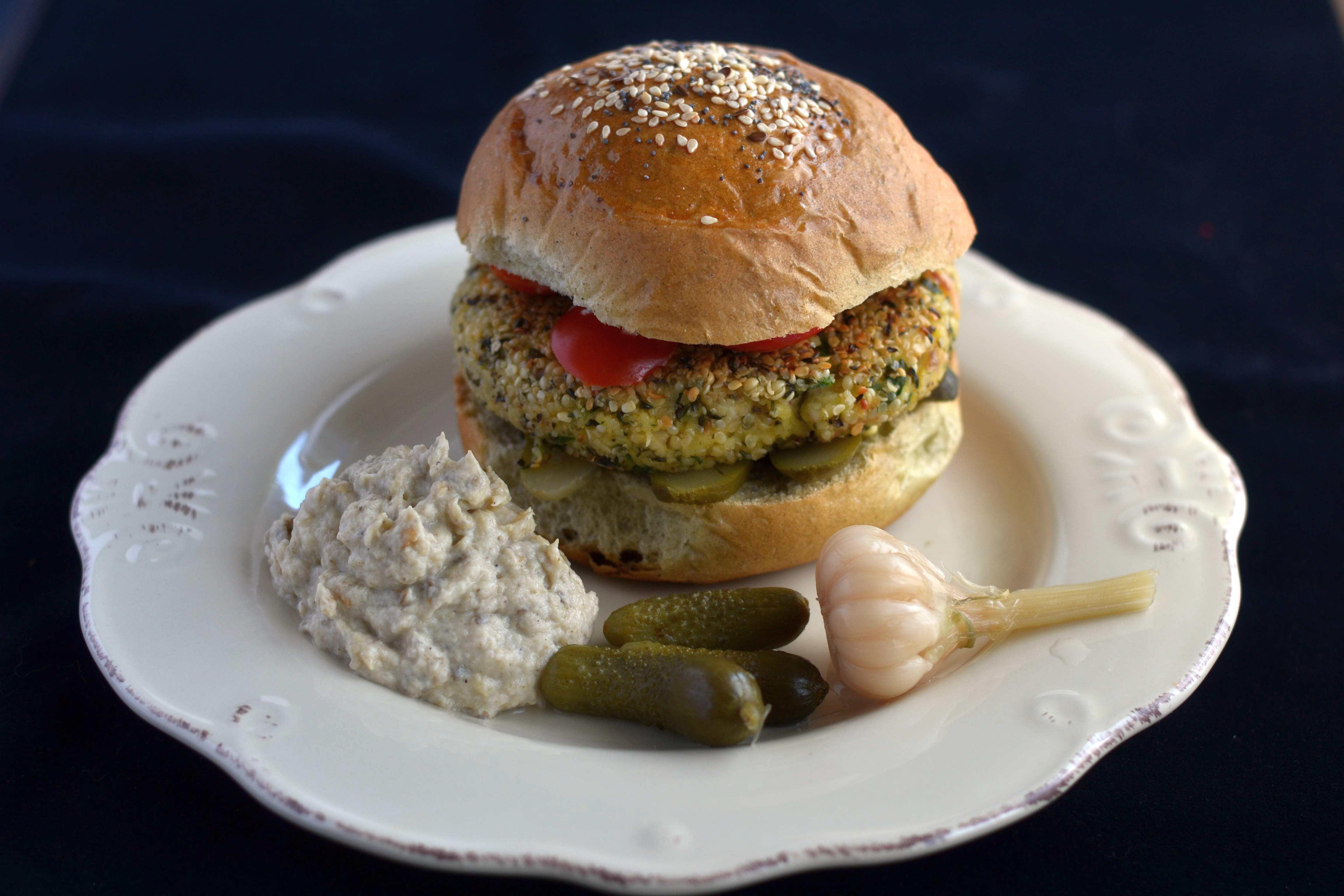 Hamburger Di Moscardini
