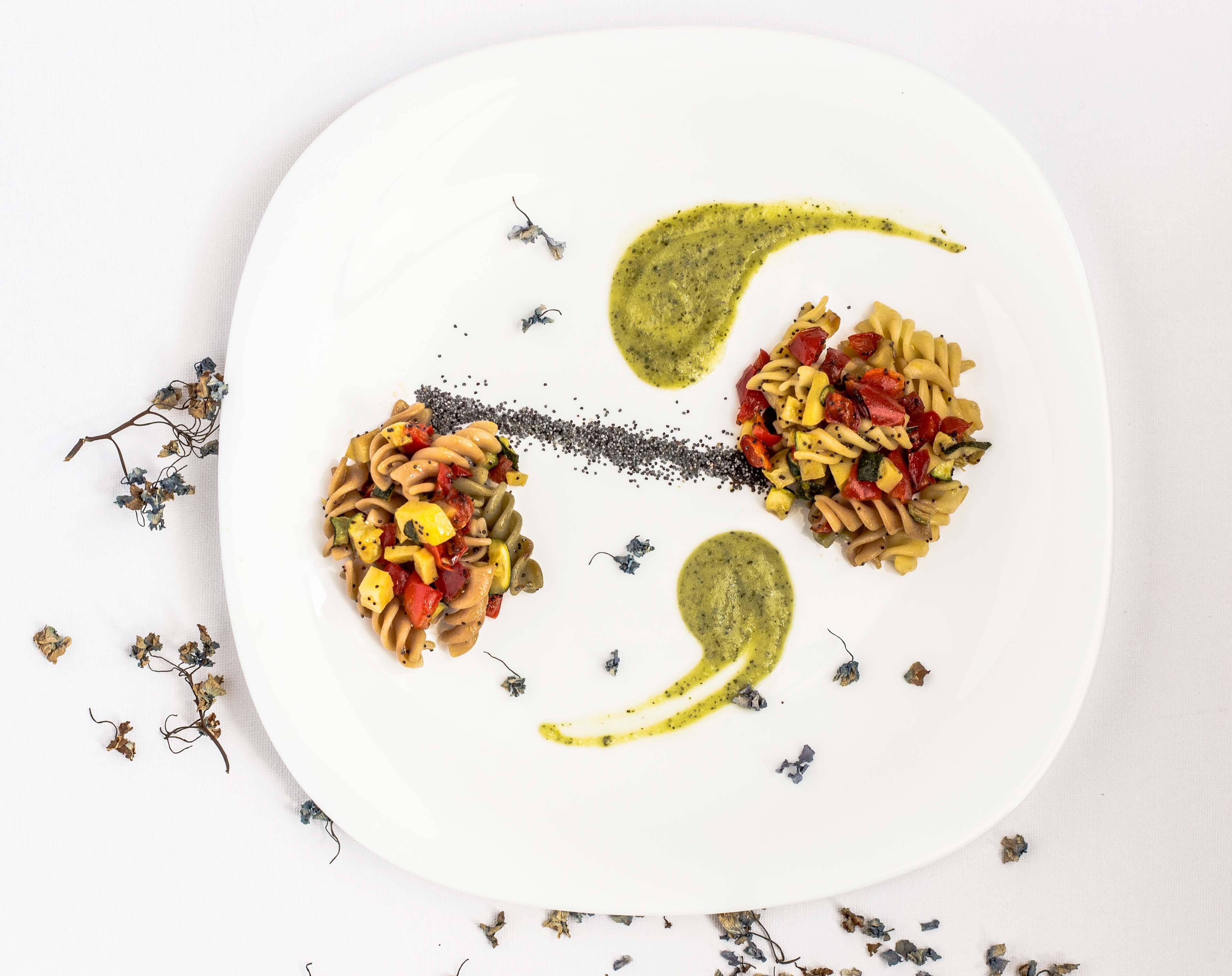 Nattura E I Fusilli Tricolore Di Chef Capano