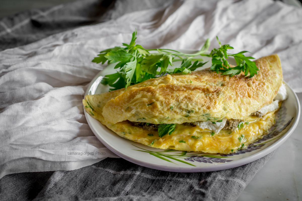 Omelette Carciofi E Ricotta