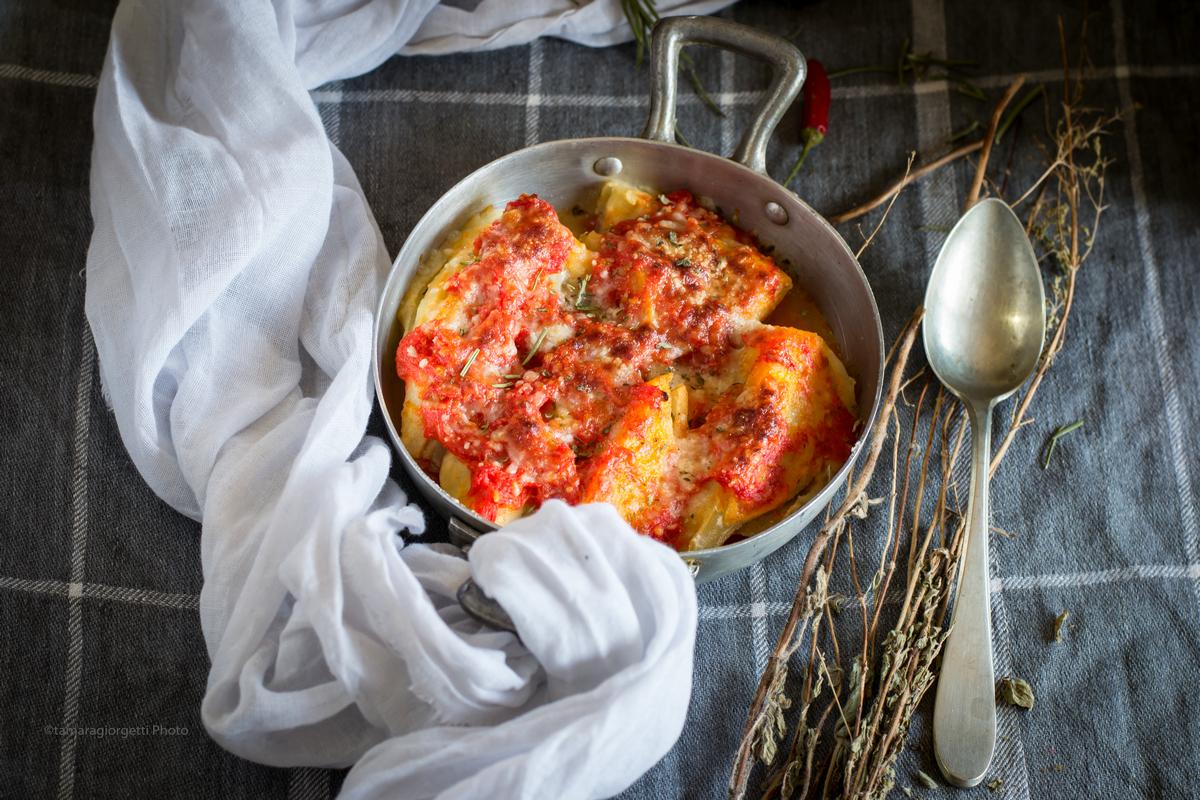 Finocchi Al Parmigiano Gratinati In Forno