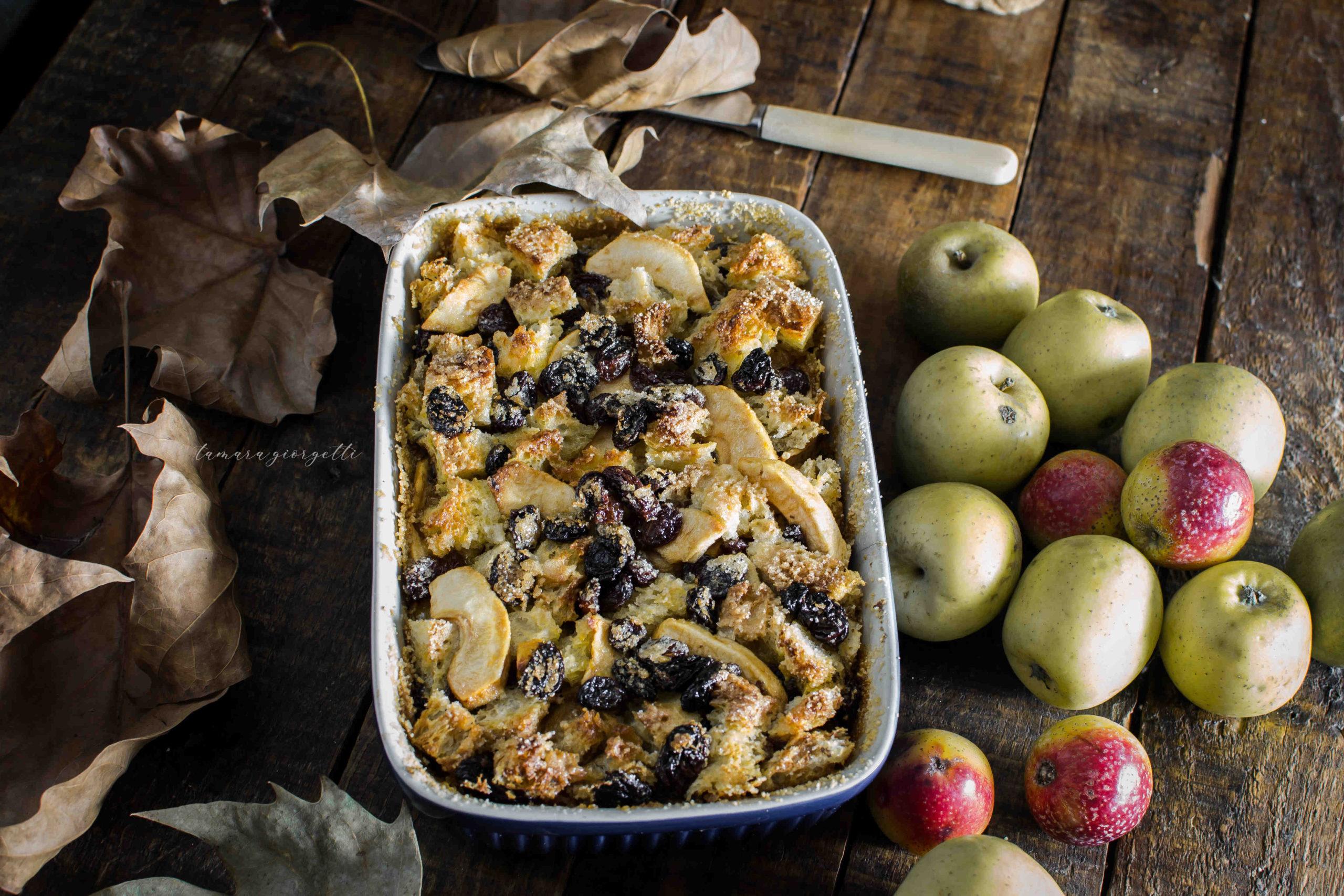 Pudding Di Pane E Mele