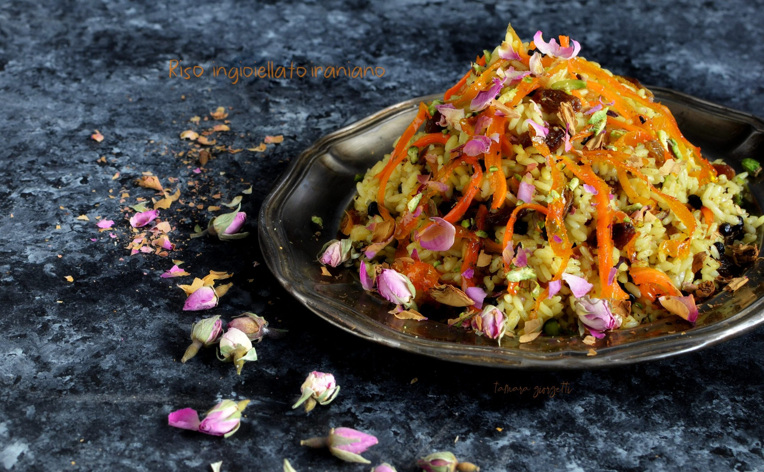 Iranian Jewelled Rice